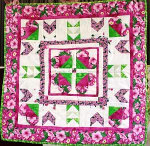 e] Debbie - challenge quilt