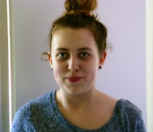 Rebecca = funny face