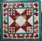 Tessa Wedding quilt front