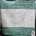 Tessa wedding quilt back