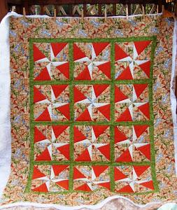 Marian's Dinosaur quilt