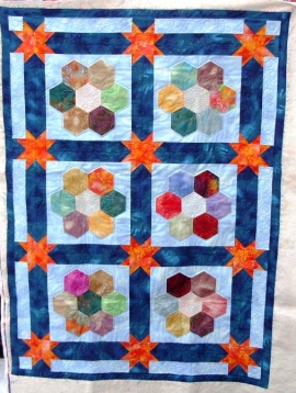 Tessa's Hexagon quilt